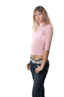 Free Attractive Girl Stock Image - 4022891