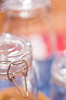 Glass Jars Stock Images