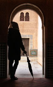 Free Doorway At The Alhambra Royalty Free Stock Photography - 4023527