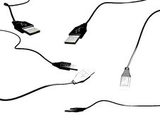 Free Pack Of USB Cable Stock Images - 4023784