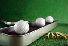 Free Golfballs Royalty Free Stock Image - 4023966