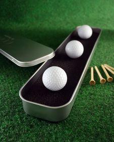 Free Golfballs Stock Photos - 4023993