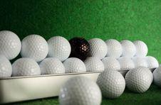 Golfballs Royalty Free Stock Photo