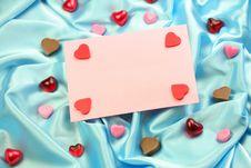 Free Valentine Card Royalty Free Stock Photos - 4024168