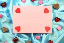 Free Valentin Card Royalty Free Stock Photos - 4024198