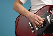 Free Guitar Closeup Royalty Free Stock Photos - 4025248