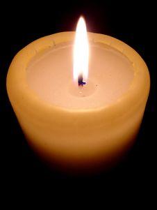 Free Burning Candle Stock Image - 4025851