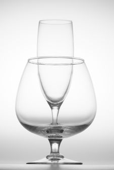 Free Wine Glass And Goblet Stock Image - 4026571