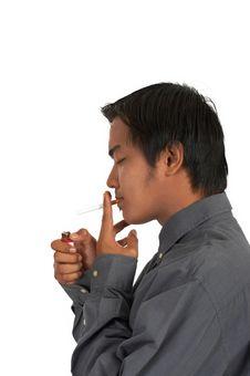 Free Smoker Stock Photography - 4026942