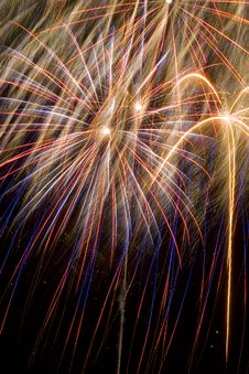 Free Abstract Blowing Up Fireworks Stock Photos - 4027283