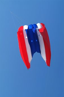 Tri-colour Kite Stock Image