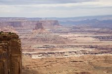 Free Grand View Overlook - Canyonlands NP Stock Photography - 4028922