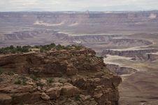 Free Buck Canyon Overlook - Canyonlands NP Stock Image - 4028971