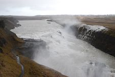 Free The Waterfalls At Gulfoss, Iceland. Stock Photos - 4029283