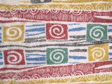 Free Patterned Dish Towel Royalty Free Stock Photography - 4029607