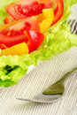 Free Fresh Salad And Water Royalty Free Stock Images - 4035689