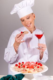 Free All Cherry Chef Royalty Free Stock Image - 4030706