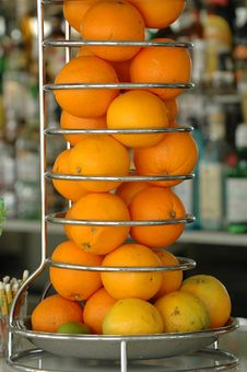 Free Oranges In Bar Stock Photo - 4030910
