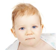 Free Portrait Of The Blue-eyed Boy Stock Photography - 4031092
