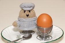 Free Soft Boiled Eggs Royalty Free Stock Photography - 4031517
