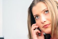 Free Businesswoman On Phone Stock Photo - 4031810
