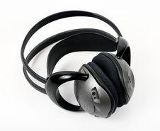Headphones Wireless Stock Image