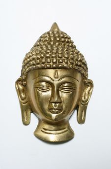 Free Bronze Satue Of Buddha Royalty Free Stock Photos - 4032118