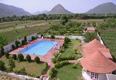 Free Isolated Hotel Resort, Pushkar Royalty Free Stock Photos - 4032128