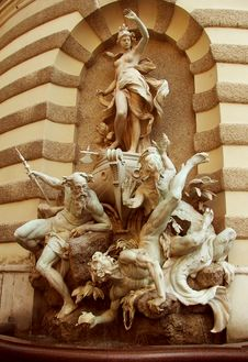 Free A Beauty, Michaelerplatz Fountain - Vienna Stock Images - 4033184