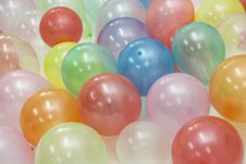 Free Coloured Balloons Stock Photography - 4034002