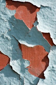 Free Cracked Paint Royalty Free Stock Image - 4034026
