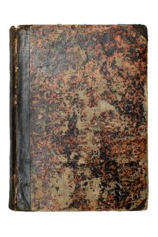 Old Brown Book Cover Stock Images