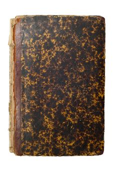 Free Old Brown Book Cover Stock Image - 4034171