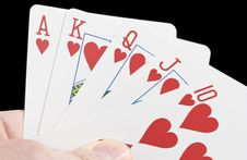 Free Royal Flush Stock Photo - 4034230