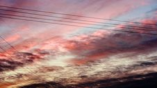 Sky After Sunset Royalty Free Stock Photos