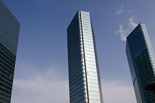 Free Modern Glass Building Stock Photography - 4034552