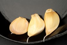 Free Three Cloves Of Garlic Royalty Free Stock Photo - 4034725