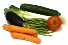 Free Display Of Vegetables Stock Photos - 4035363
