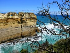 Rugged Coastline, Great Ocean Road Royalty Free Stock Images