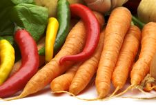 Free Fresh Vegetables Stock Image - 4036221