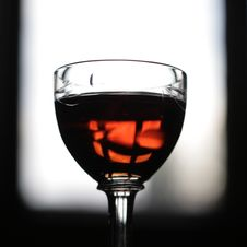 Free Glass Of Red Wine Stock Photography - 4038582