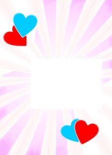Free Valentine S Frame Stock Image - 4039051