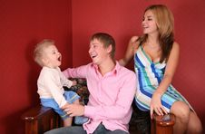 Free Young Family Laughing Stock Photos - 4039573