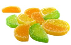 Colourful Fruit Candies Royalty Free Stock Image