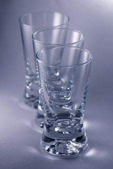 Free Vodka Glasses Royalty Free Stock Photography - 4039997