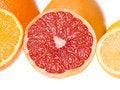 Free Sliced Citrus Fruits Royalty Free Stock Image - 4046896