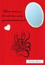 Free Valentine Card Royalty Free Stock Photo - 4047225
