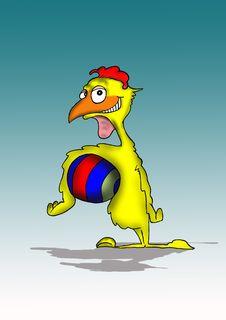 Free Smiling Chicken Stock Image - 4040011
