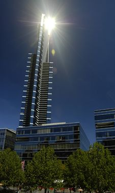 Eureka Tower Melbourne Royalty Free Stock Images