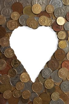 Free Heart Of Gold Stock Photography - 4040382